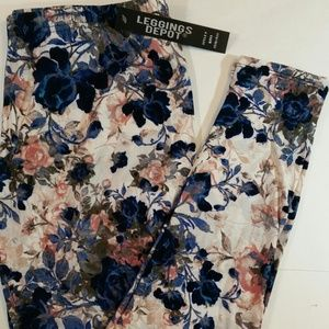 Floral Buttery Soft Leggings